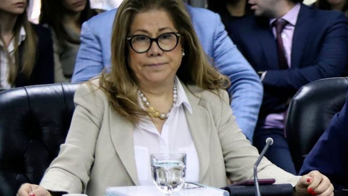 Lawmaker Graciela Camaño.