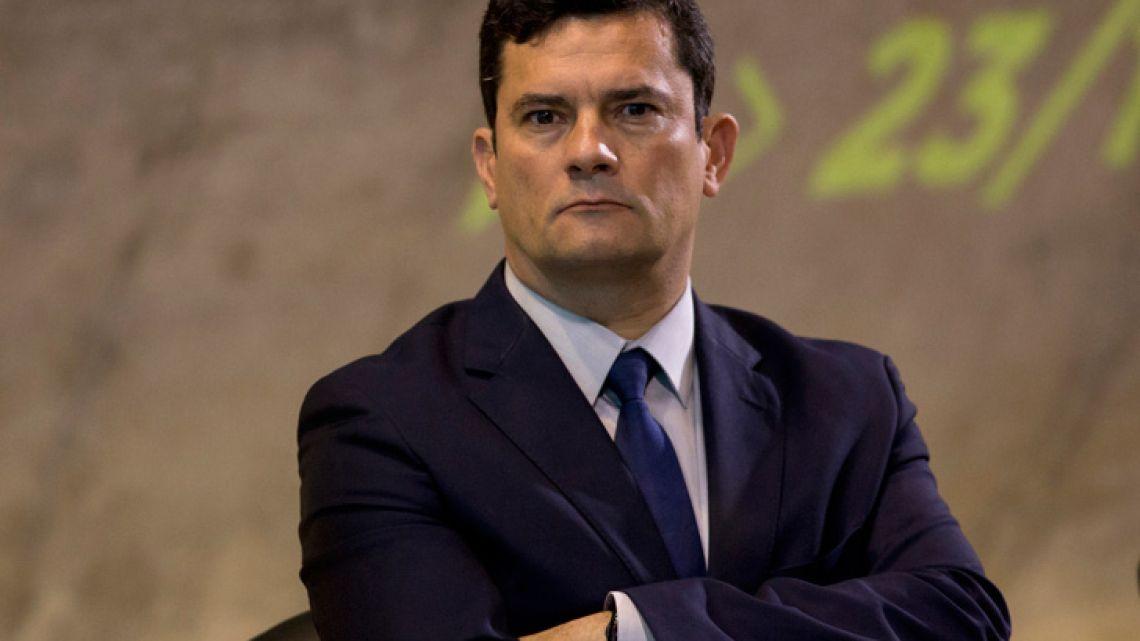 Justice Minister Sergio Moro.
