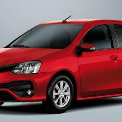4° Toyota Etios, 2.184 unidades vendidas.