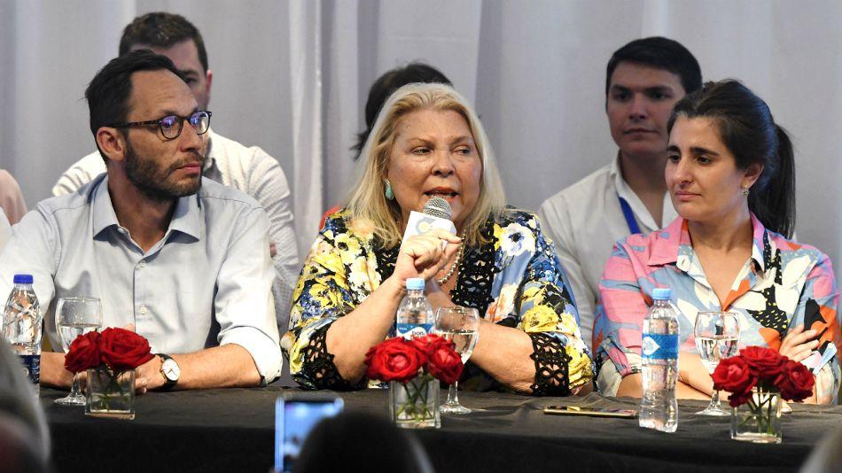 La Coalición Cívica en su conjunto presentó la declaración.