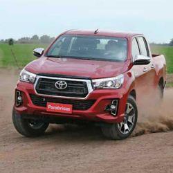 Toyota Hilux, líder en ventas en la Argentina.