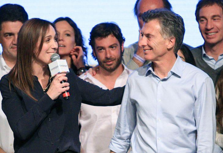 Maria Eugenia Vidal y Macri 20190206