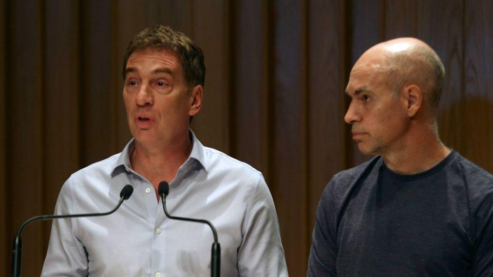 Imagen de archivo | El jefe de Gobierno porteño, Horacio Rodríguez Larreta y el vicejefe Diego Santilli volvieron a criticar a la magistrada que liberó a un motochorro en pocas horas.