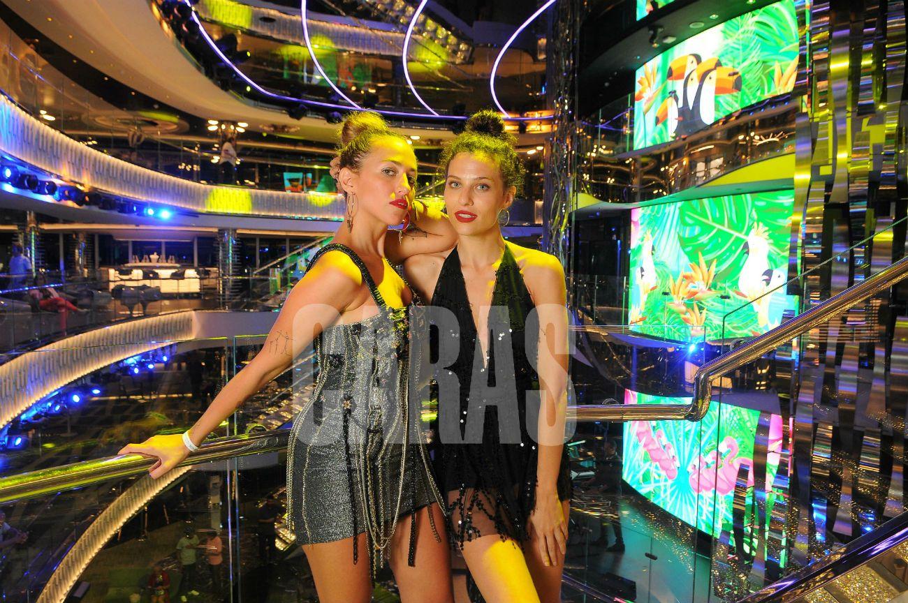 Nati Saal y Valentina Salezzi: influencers, compinches y pasajeras frecuentes