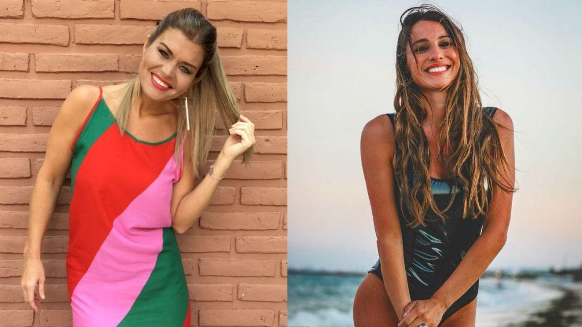 Ángeles Balbiani y Pampita
