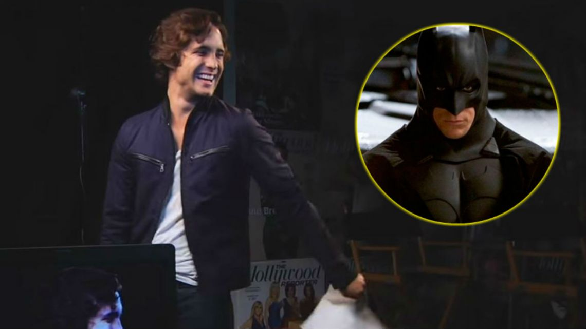 Diego Boneta audicionó para The Dark Knight.