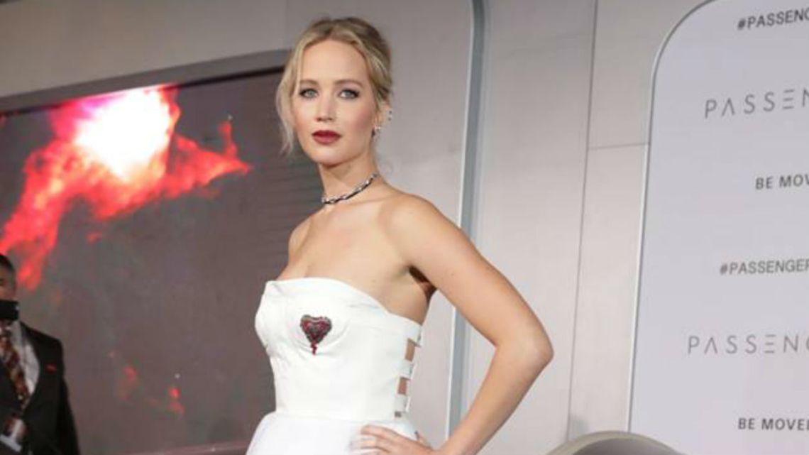 Jennifer Lawrence se comprometió