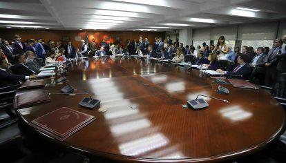 El Consejo de la Magistratura.