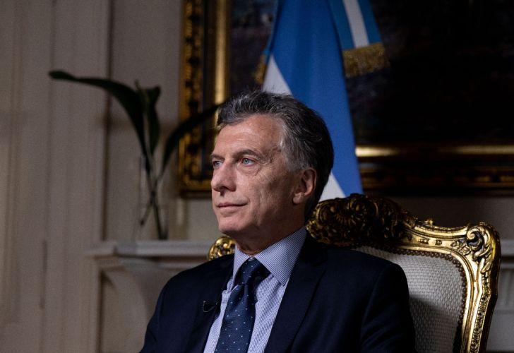 El presidente de la Nación, Mauricio Macri. 190207