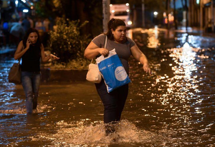 Lluvias en Río de Janeiro 20190207