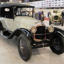 Type A 10 HP de 1919, presente en Rétromobile 2019.
