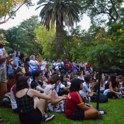 Images from 'Harry Potter Book Night,' a celebration of all things Potter, Hogwarts and JK Rowling, at the British Embassy in Recoleta, Buenos Aires, on Thursday evening.