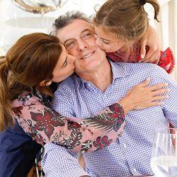 Mauricio Macri celebró su cumpleaños rodeado de amor