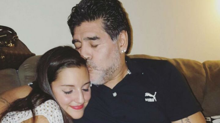 El sentido mensaje de Jana Maradona tras la muerte de Diego Maradona