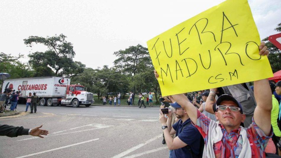 llegada ayuda humanitaria colombia venezuela
