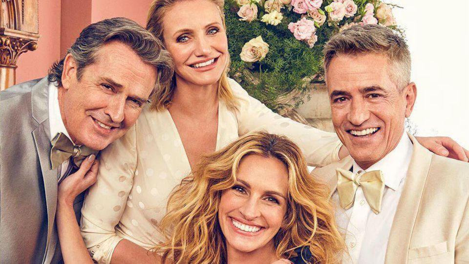 """A 22 años del estreno, se reunió el elenco de """"La boda de mi mejor amigo"""""""