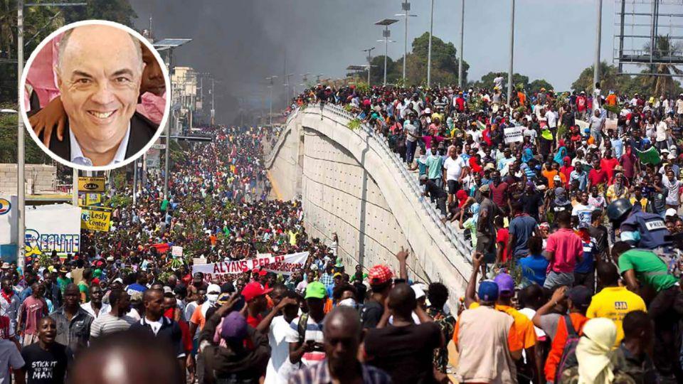 Encerrado y custodiado: el embajador argentino en Haití no puede salir de la embajada