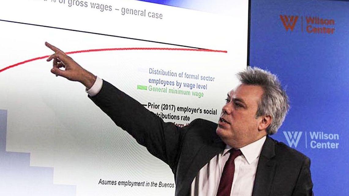 Sebastian Galiani, former number two at the Treasury Ministry.