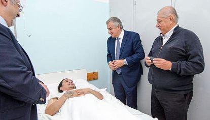 Salud. El gobernador de Jujuy generó posiciones enfrentadas.
