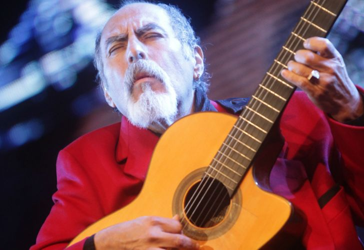 Juanjo Domínguez, un guitarrista excepcional.