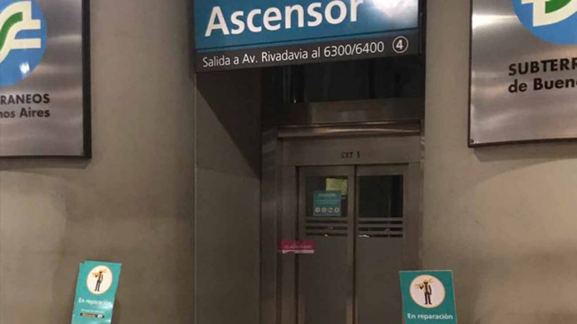 Subte: no se cobrará boleto cuando no funcionen las escaleras mecánicas