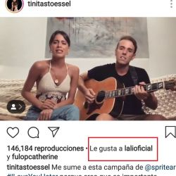 Tini le cantó a quienes la critican.