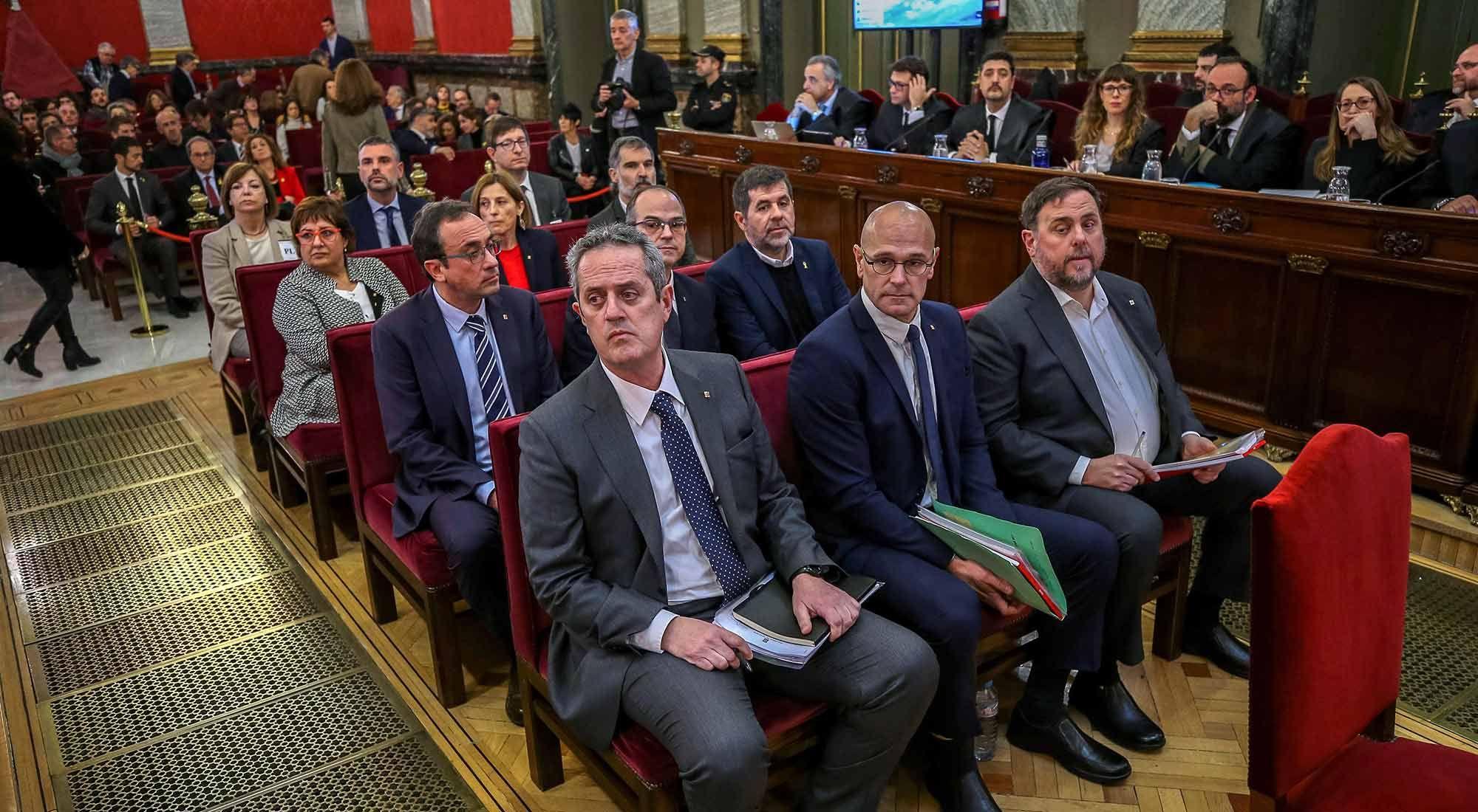Juicio a los independentistas catalanes: la defensa cuestionó al Tribunal Supremo