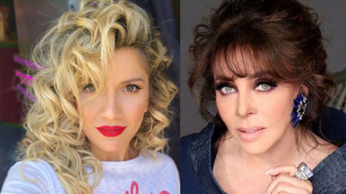 Laurita Fernández y Verónica Castro
