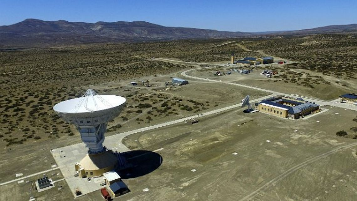 China's deep space ground station in Neuquén province.