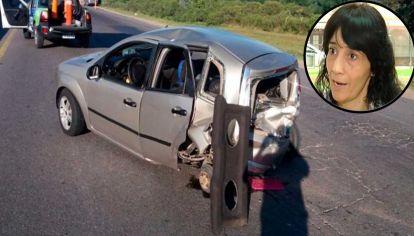 Soledad McNally, directora de Movilidad Urbana de la Municipalidad de Zárate, fue protagonista de un accidente de tránsito.