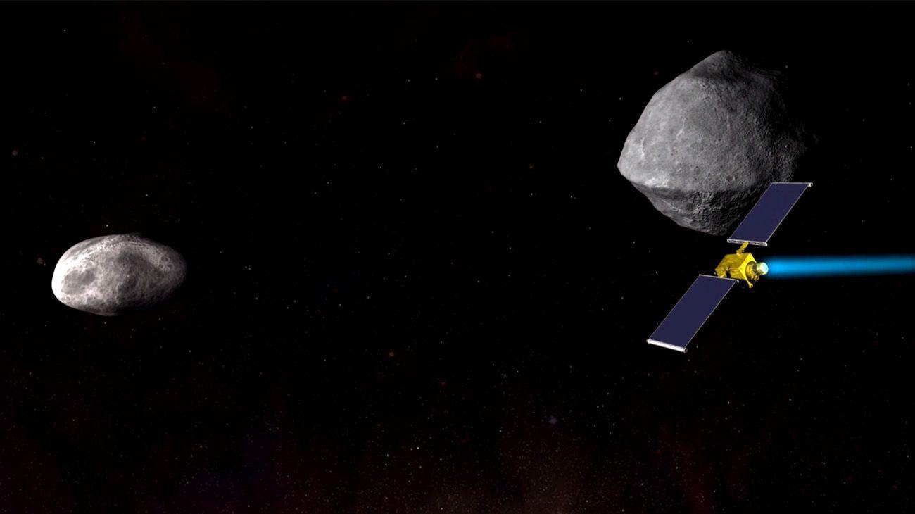 La NASA intentará desviar una asteroide que impactaría con la tierra.