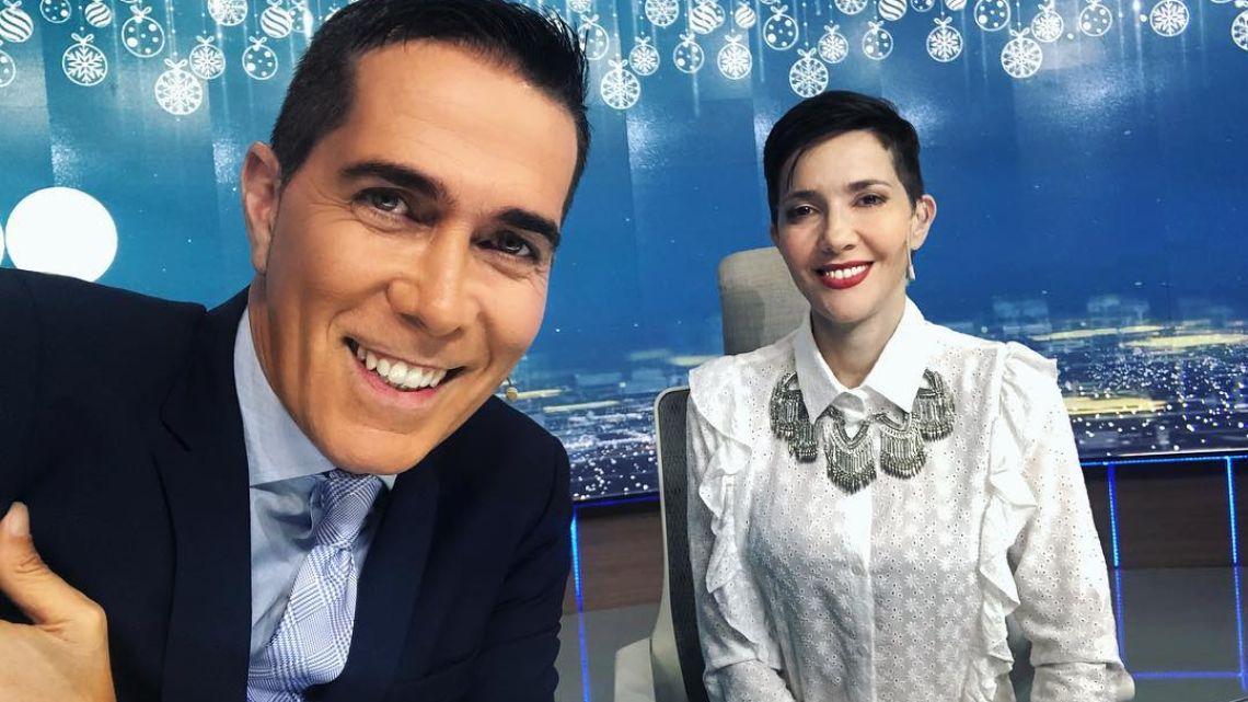 Rodolfo Barilli y Cristina Pérez, la pareja más querida de la televisión