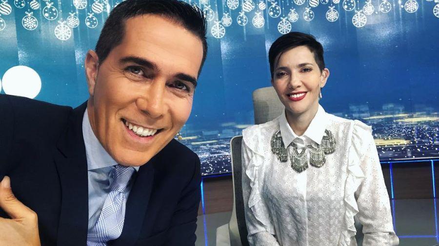 Rodolfo Barilli y Cristina Pérez