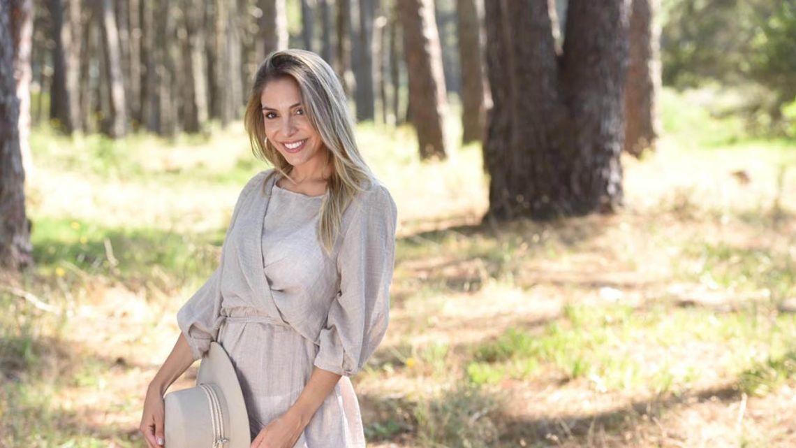 La actriz confirmó que su heredero llegará a mediados de agosto.