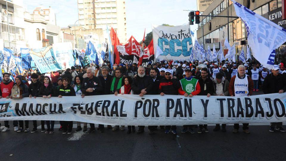20190214 marcha trabajo libertad expresion pobresa