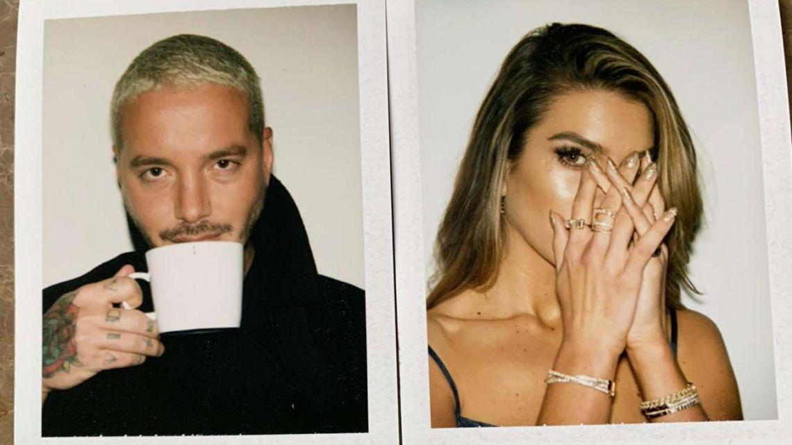 J Balvin fue conquistado por una sensual modelo Argentina
