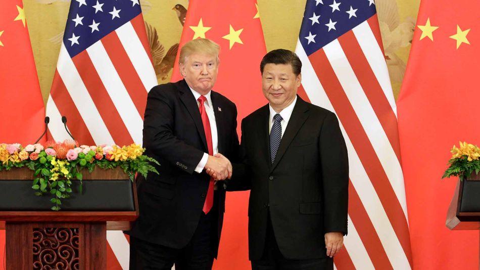 Donald Trum y Xi Jinping 02152019