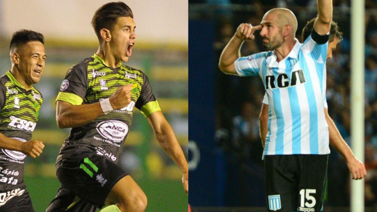 Racing y Defensa, los dos aspirantes a ganar la Superliga.