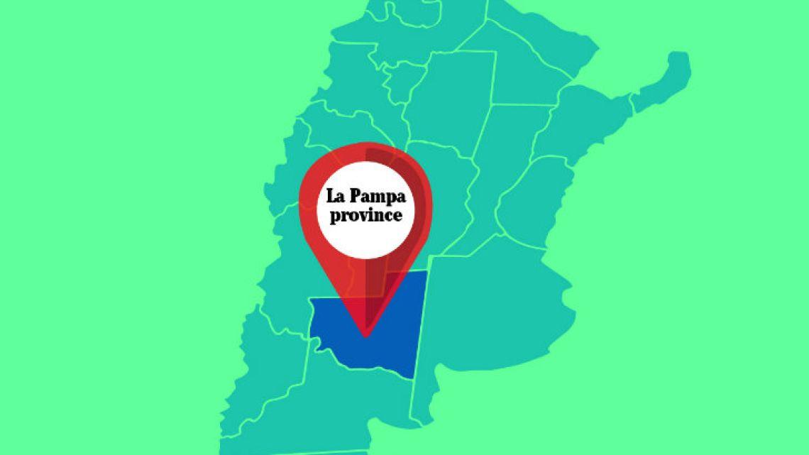 La Pampa province.