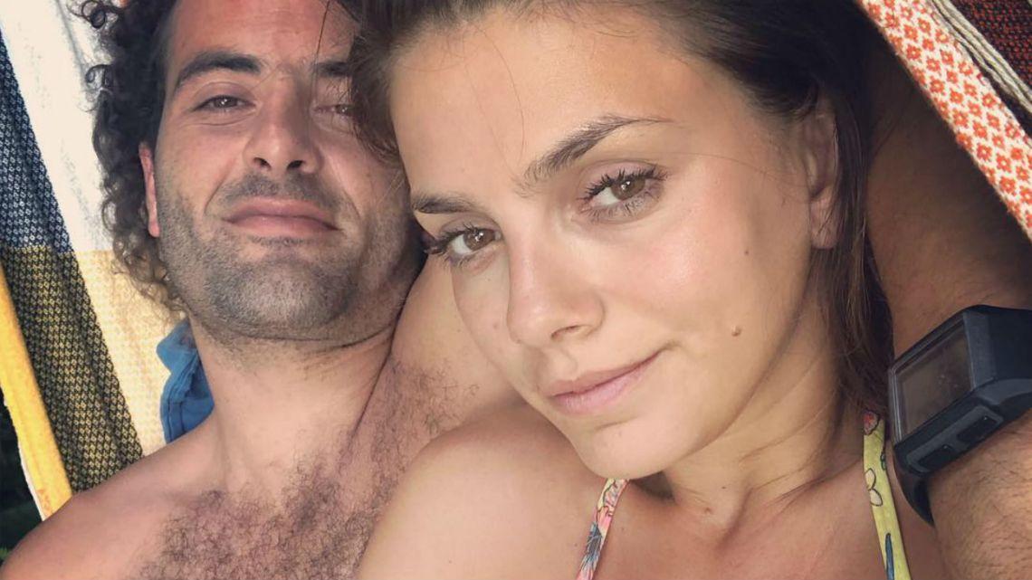 Natalie Pérez no permitió que atacaran a su novio.