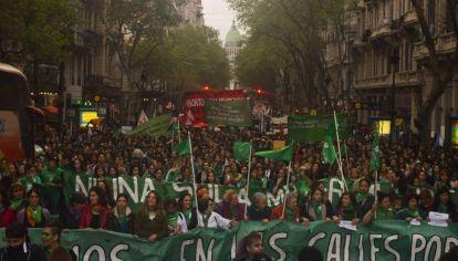 Marcha de los pañuelos verdes