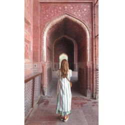 Juliana Awada deslumbró con su look en India
