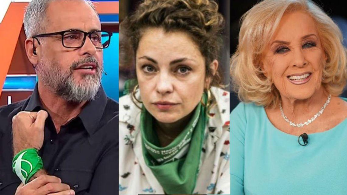 Dolores Fonzi reivindicó a Intrusos y criticó la mesa de Mirtha Legrand