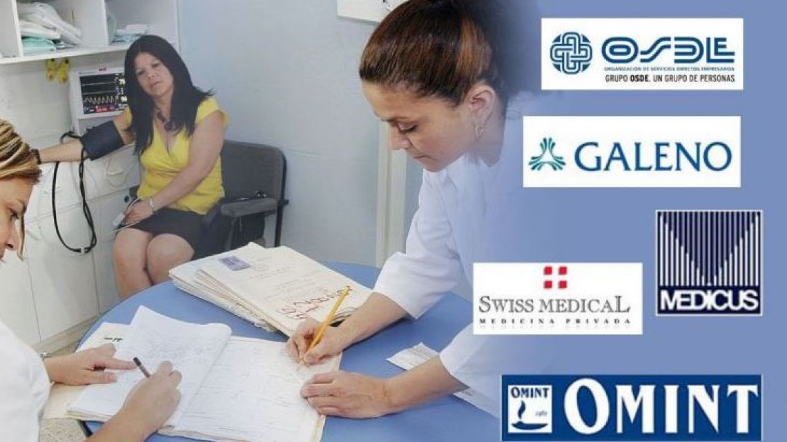 Argentina is awash with private healthcare providers.