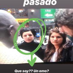 "Candelaria Tinelli, ""emo"""