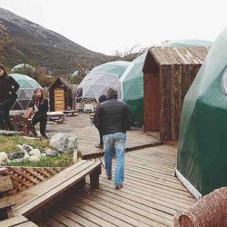 Los domos del Ecocamp Patagonia, una original propuesta de glamping.