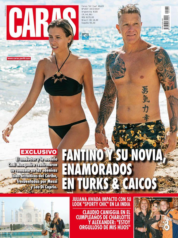 Alejandro Fantino y su novia reafirman su amor