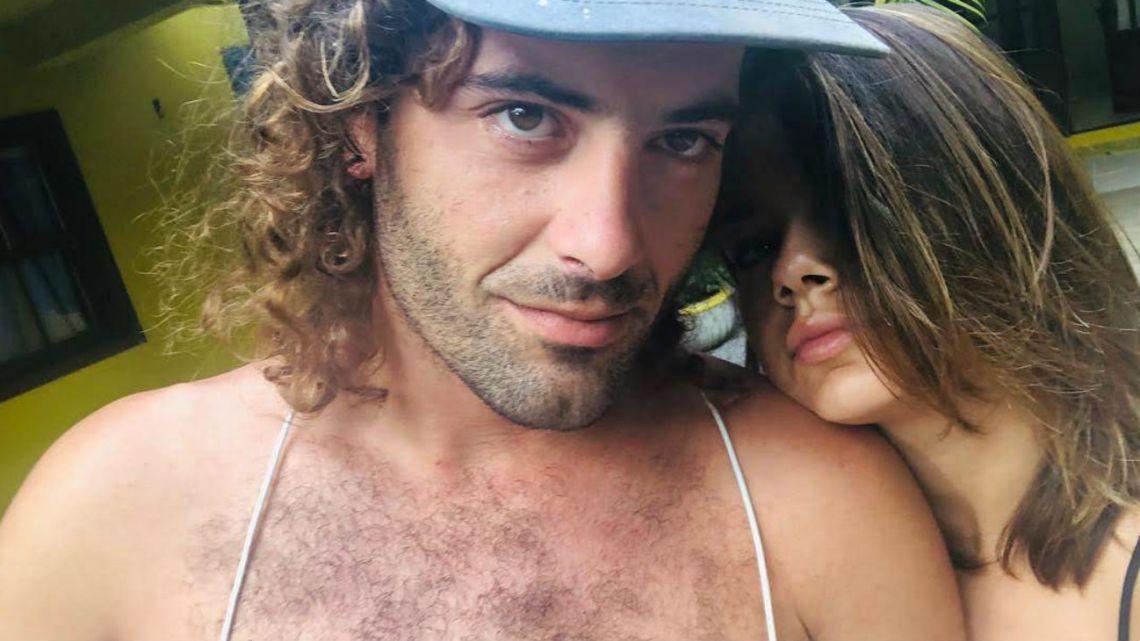 Natalie Pérez y Ramiro, su gran amor.
