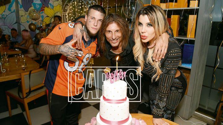 Todos los detalles del excéntrico cumpleaños de Charlotte y Alexander Caniggia con Claudio Paul