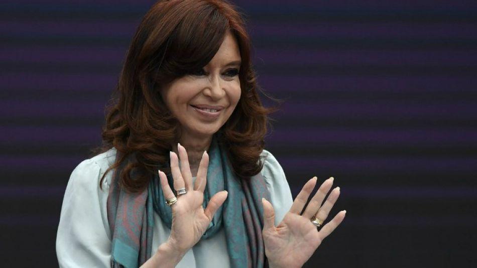 Cristina Kirchner, senadora nacional.